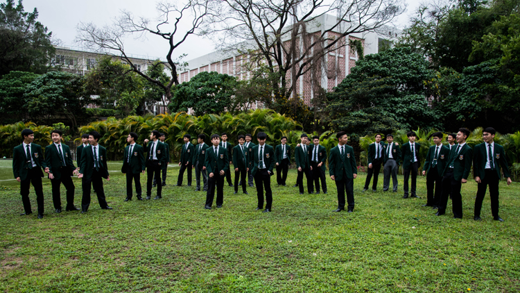 Wah Yan College Kowloon Boys' Choir, Hong Kong, Kitajska